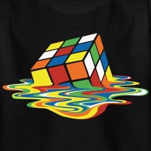 Rubik's Melting Cube - Teenage T-shirt