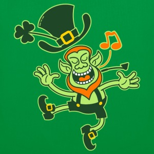 Leprechaun Dancing and Singing Bags  - Tote Bag