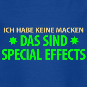 Kindershirt Das sind Special Effects - Kinder T-Shirt