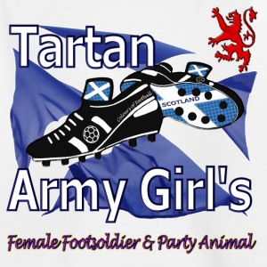 Tartan Army Girls Scotland Football Kids Classic - Kids' T-Shirt