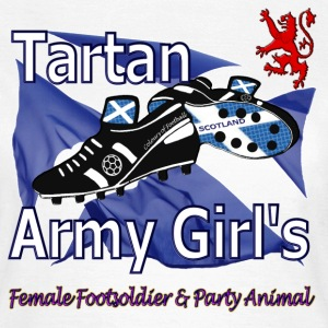 Tartan Army Girls Scotland Football Classic - Women's T-Shirt