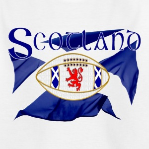 Scotland rugby lion oval ball Shirts - Teenage T-shirt
