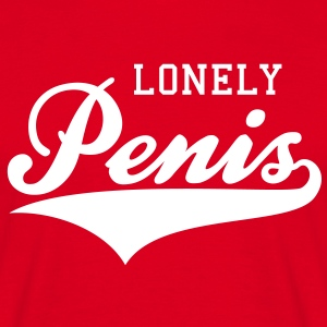 LONELY Penis FUN T-Shirt WR - Mannen T-shirt