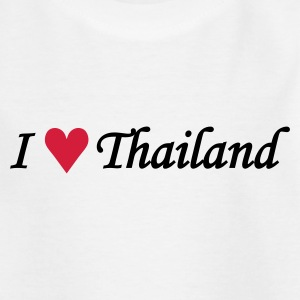 I love Thailand / I heart Thailand Shirts - Teenage T-shirt