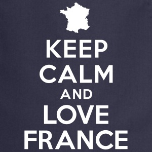 Keep calm love France Tabliers - Tablier de cuisine