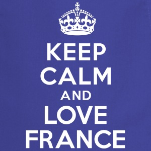 Keep calm and love France Tabliers - Tablier de cuisine