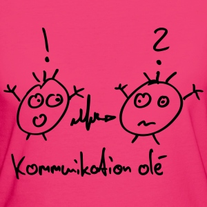 Kommunikation Olé T-Shirts - Frauen Bio-T-Shirt