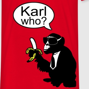 karl who? monkey T-Shirts - Männer T-Shirt
