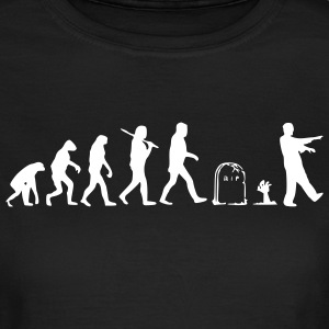 Zombie Evolution SR Girl - Frauen T-Shirt
