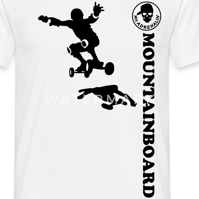 mountainboard Tee shirts - T-shirt Homme