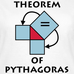 theorem_of_pythagoras_p1 T-Shirts - Women's T-Shirt