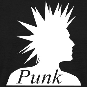Punk Head T-Shirts - Men's T-Shirt