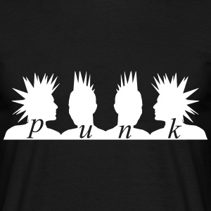 Punk Heads T-Shirts - Men's T-Shirt