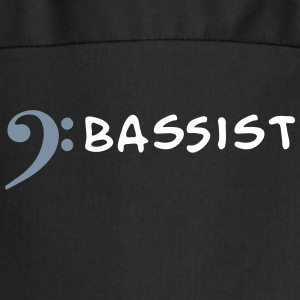I play bass - I'm bassist  Aprons - Cooking Apron