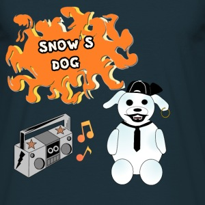 Snow's dog T-Shirts - Men's T-Shirt