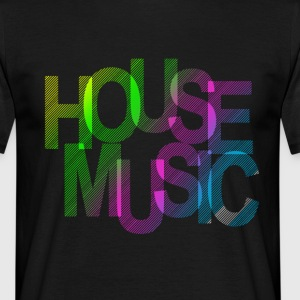 House Music T-Shirts - Männer T-Shirt