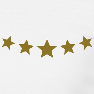 5 Star Award * Five Stars lof winnaar T-shirts - Mannen T-shirt