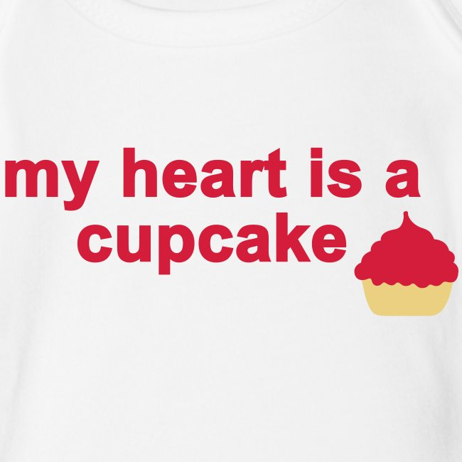 my heart is a cupcake