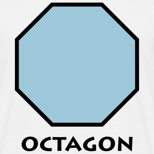 octagon_p1 Tee shirts - T-shirt Homme