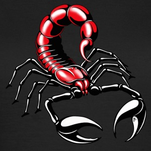 Scorpion - red - Vrouwen T-shirt
