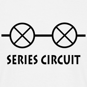 series_circuit_p1 T-shirts - Mannen T-shirt