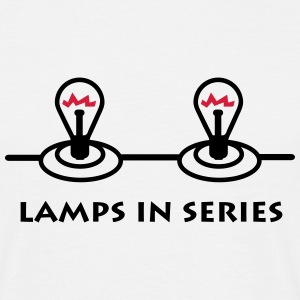 lamps_in_series_p1 T-shirts - Herre-T-shirt