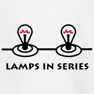lamps_in_series_p1 Shirts - Kinderen T-shirt