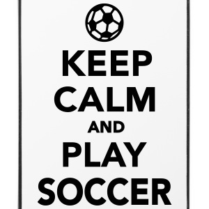 Keep calm and play Soccer Sonstige - iPhone 4/4s Hard Case