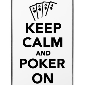Keep calm and Poker on Sonstige - iPhone 4/4s Hard Case