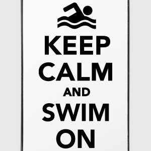 Keep calm and swim on Sonstige - iPhone 4/4s Hard Case