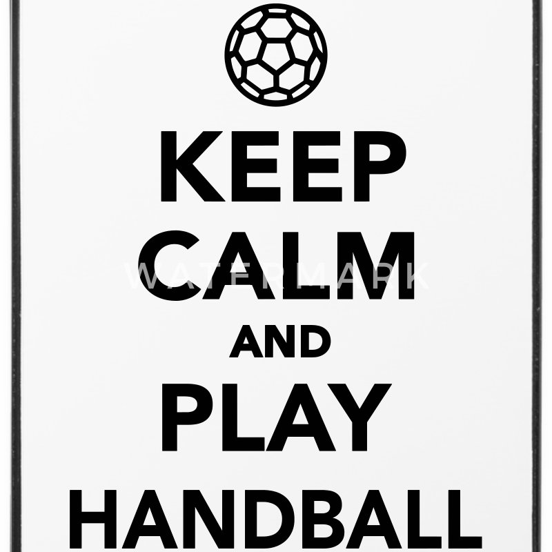Keep calm and play Handball Sonstige - iPhone 4/4s Hard Case