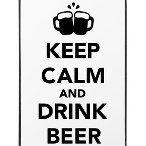 Keep calm and drink beer Sonstige - iPhone 4/4s Hard Case