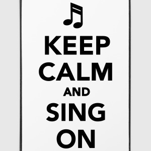 Keep calm and sing on Sonstige - iPhone 4/4s Hard Case