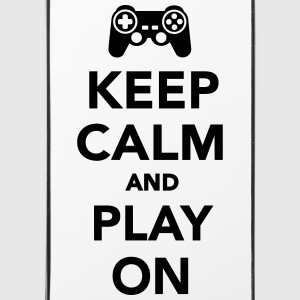 Keep calm and Play on Sonstige - iPhone 4/4s Hard Case