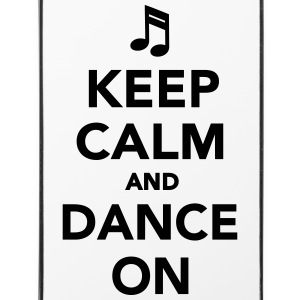 Keep calm and dance on Sonstige - iPhone 4/4s Hard Case