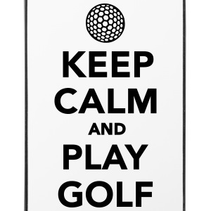 Keep calm and play Golf Sonstige - iPhone 4/4s Hard Case