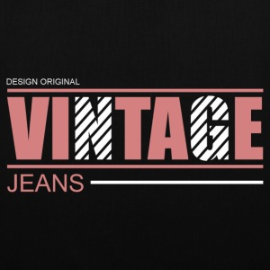 vintage jeans design original Bags  - Tote Bag