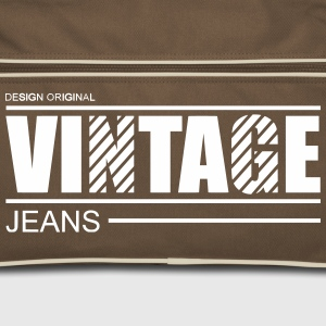 vintage jeans design original Bags  - Retro Bag