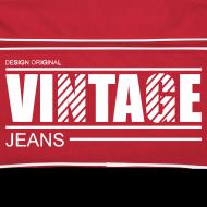 Motif ~ Sac rétro vintage jeans design original