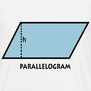 parallelogram_p1 Tee shirts - T-shirt Homme