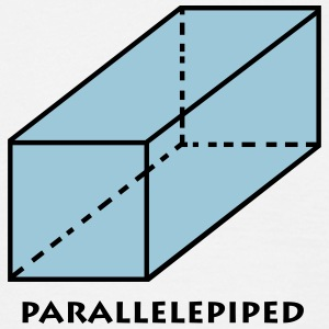 parallelepiped_p1 T-shirts - Mannen T-shirt