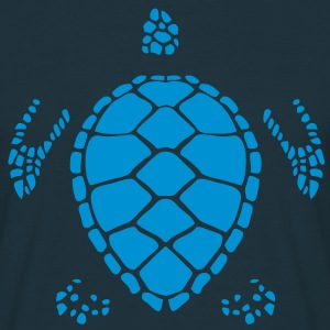 tortue silhouette ombre shadow turtle 60 Tee shirts - T-shirt Homme