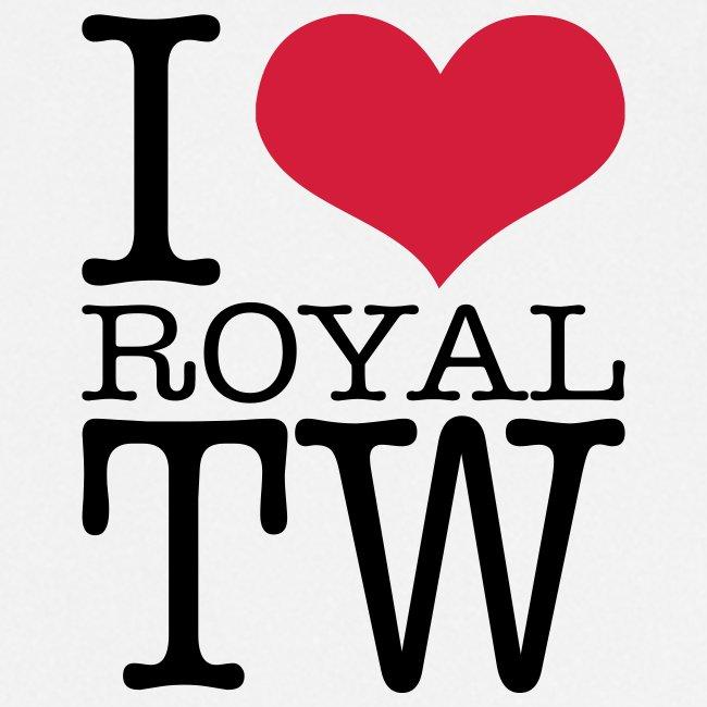 I Love Royal TW Apron