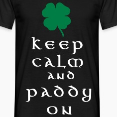 keep calm and paddy on T-Shirts