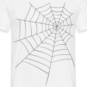 Spider web  T-Shirts - Men's T-Shirt