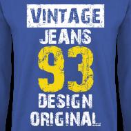 Motif ~ Pull homme vintage jeans design original