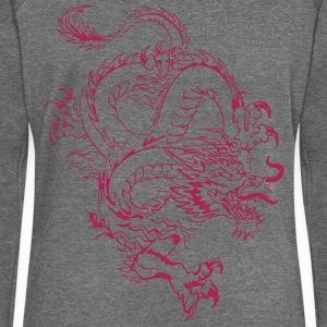 Chinese dragon by dk Sweat-shirts - Pull Femme col bateau de Bella