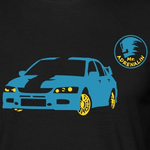 Sport car T-shirts - Mannen T-shirt