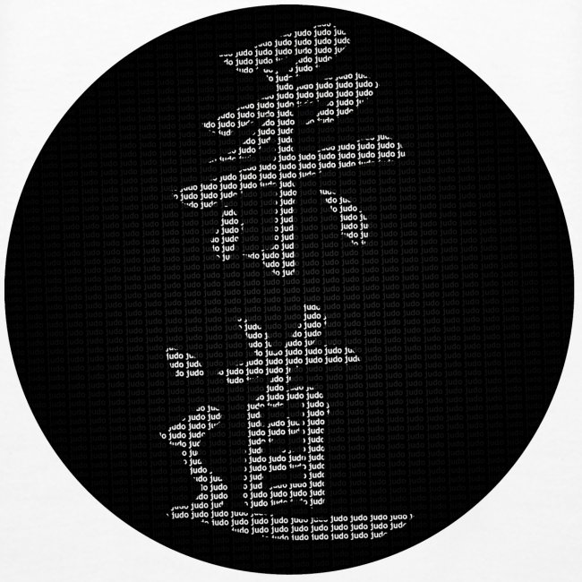 sweat calligraphie judo moderne dos