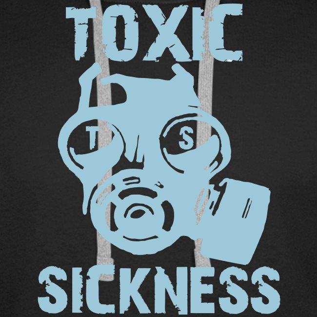 New Men`s Toxic Hoodie